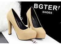 Free shipping size 35-39 new 2014 13cm new fashion  wedding party women high heels shoes women pumps