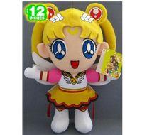 Sailor Moon SailorMoon Luna Plush Doll Costumes Cosplay Toy Figures 12inch