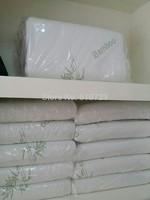 factory direct sales,special design 100% bamboo fiber Slow rebound memory foam pillow neck cervical healthcare pillows