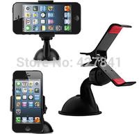 2014 Fasion Black Car Holder Stick Stand Frame for iPhone Mobile Phone GPS Mini universal Holder