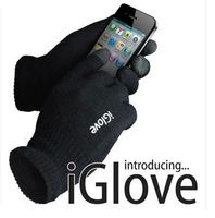 5pcs IGlove Screen touch gloves with High grade box  Winter for Iphone touch glove 9 colors Free shipping