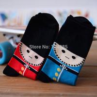 European and American female male British style sock couple women and men socks 52223