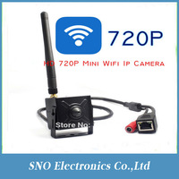 Support Iphone and Andriod 3.7 mm Korea Pinhole Lens 720P H.264 Micro Onvif wifi wireless 1Mp Mini Ip Camera