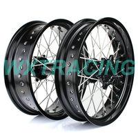17'' WHEEL RIM SET KTM EXC SX SXF 125 150 250 450 530 BLACK WHEEL FOR KTM