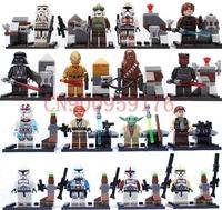 star war minifigures block figures