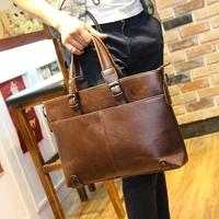 2014 New Arrival Business Bag For Man,Retro Tide Multi-function Business Handbag,Shoulder Bag & Messenger Bag & Handbag , BTF191