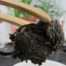 Puer cooked tea colorful phoenix 200 g trecsure pu er tea organic high mountaim trees material