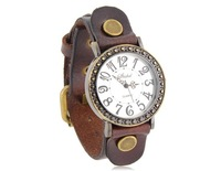 New 2014 Shshd Analog Watch with PU Leather Strap Trendy Watch Brands Originals Free Shipping