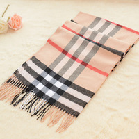 Free Shipping Fashion Women & Men's British Classic Plaid Cashmere Scarf  Warm Cashmere and Wool Scarves Shawl 180*30cm
