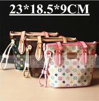 Girls Accessories Kids Handbags PU Party Bag Child Fashion Sac Brand Handbags 2014 Bucket Bag Classic Handbags Shoulder Bags