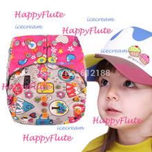 Happy Flute bamboo pocket AIO baby cloth diaper free shipping(China (Mainland))