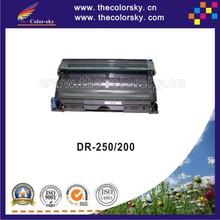 (CS-DR250) toner laserjet printer laser cartridge for Brother HL 720 730 760 1040 2750 3550 HL3550 DR-250 DR-200 DR250 DR200 20k