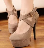 women high heels New arrival fashion high heels platform shoes for women 14cm pumps women party wedding shoes