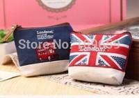 Free shipping European style women's Zipper coin purse Wallet,creative canvas zero wallets,Christmas gift,retail
