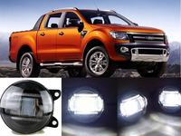 eCityBuy Car Driving Fog Lights Q5-Lens LED Guide Daytime Running Lights for Ranger  -2 PCS