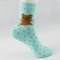10pairs/lot 2014 New Arrival Cartoon Thick Warm Autumn And Winter Women Cotton Socks Ladies Socks