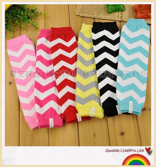 wholesale 1Pair Baby Child Toddler Leg Warmer Cover Rainbow Socks/child leg warmer/cotton leg warmer(RJ-0034)(China (Mainland))