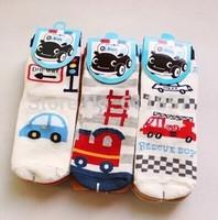 24pcs=12pairs children socks  car cotton glue male child sock freeshipping