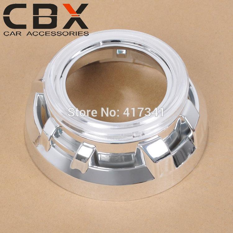 3 inches hid bi xenon projector lens shroud high temp resistant Caynne type B for car headlight Koito Q5 Hella projector lens(China (Mainland))