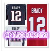 Cheap Stitched Custom Men's American Football Jersey #12 Tom Brady Elite Football Jersey/Shirt .Accept Drop Shipping