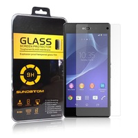 free shipping Premium glass Screen Protector Tempered Glass for Sony Xperia Z2 L50 Glass Protective Film