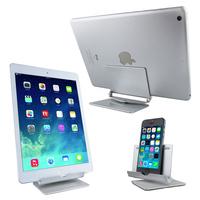 Universal Adjustable Aluminum Alloy Metal Smartphone Tablet Desktop Stand Holder Cradle for iPhone 6 iPhone6 Plus iPad Samsung
