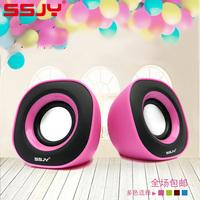 Ssjy s-65 notebook mini usb2.0 multimedia computer small audio desktop portable speaker subwoofer