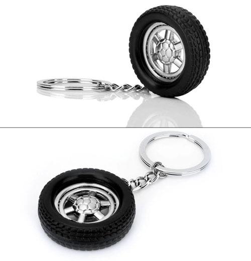 The simulation car tire key chain(China (Mainland))