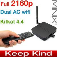 MINIX NEO X8-H Plus Android TV Box Quad Core Amlogic S812-H Smart TV Box android XBMC Media Player 2GB/16GB 4K 2160p H.265 + M1