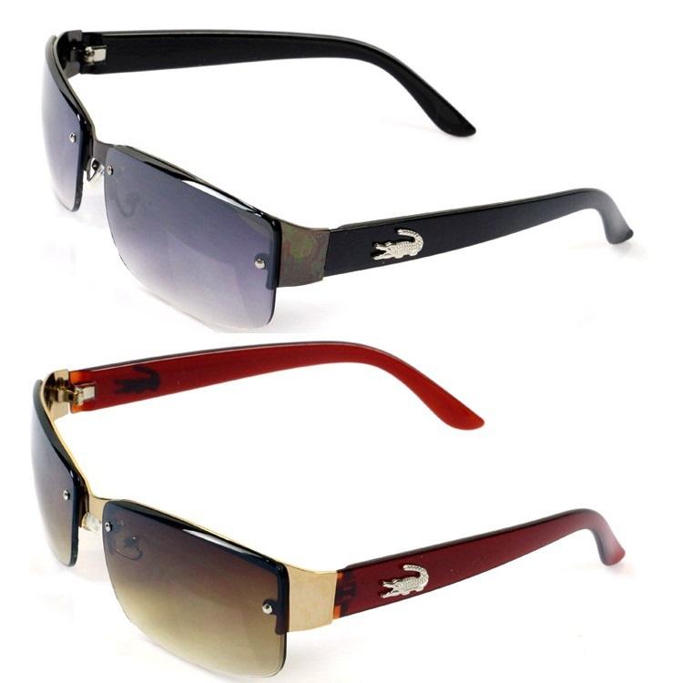 2015 New Fashion Square Sunglasses Men Driving Outdoors Sun Glasses Brand Designer Spors Crocodile Gafas Oculos De Sol Masculino(China (Mainland))