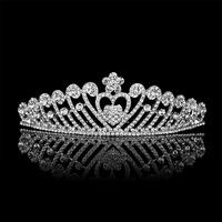 wholesale Wedding accessories High-grade pearl diamond bridal crown Gorgeous wedding accessories