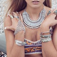 2014 Hotest Fashion Vintage Boho Necklace Colar turco Fashion Turkish Neklace Boho Jewelry for Woman  KK-SC754 free shipping