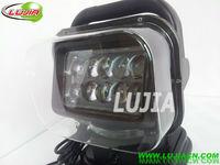 "2014 new 7""inch 50w led Work Light Square Offroad LED work light IP6712v 24v 6000K PC Lens SUV 4WD ATV with EMC function"