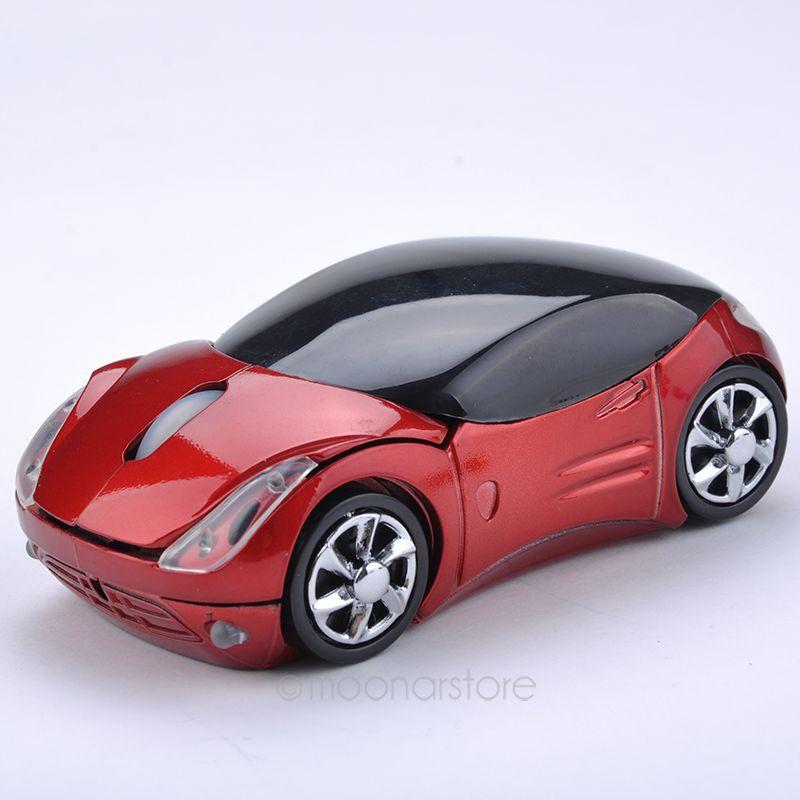 1 PC Car Mouse USB 2.4GHz Sans Fil Optique Voiture Souris Wireless Mouse For PC Laptop Free Shipping (China (Mainland))