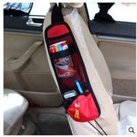 Chair side bag of automobile storage storage bag mobile phone bag storage multifunctional vehicle suspension beverage bags