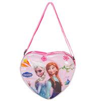 2014 Limited Top Pillow Lace Zipper Bolsa Frozen Pig Sofia Pepe Kt Crystal Heart-shaped Diagonal Package Bag Cute Little Girl