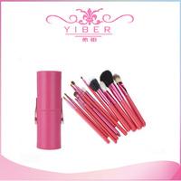 Professional makeup brush set 12pcs/Set Pro Cosmetic Makeup Brushes Set Facial Make up Tool red