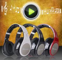 100% original Bluedio R+  8 Sound Tracks NFC Bluetooth 4.0 Stereo Headset Hi-Fi Music Headphone Support Micro-SD Card