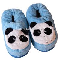 USB Foot Warmer Shoes Soft Electric Heating Slipper Cute Panda Monkey High Slippers  Many Colors Chiristmas Gift