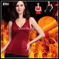 2014 women body corselet red vestido de renda vest waist training corset natal warm corselet christmas Wearing intimates hot