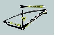 2014 MT09 carbon fiber Mountain bike frame/bicycle frame/mtb bike frame  BSA BB68 BB30 Free shipping!