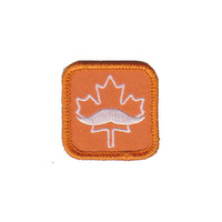 """1.5"""", Canada embroidery patch,100pcs/bag,MOQ50pcs,merrow or flat broder,iron on backing,welcome customized,free shipping"""