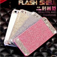 "Luxury Handmade Bling Diamond Glitter Rhinestone Hard Back Women Case Cover For iphone 4 4S 5 5S 6 For iphone 6 Plus 5.5"" Shell"