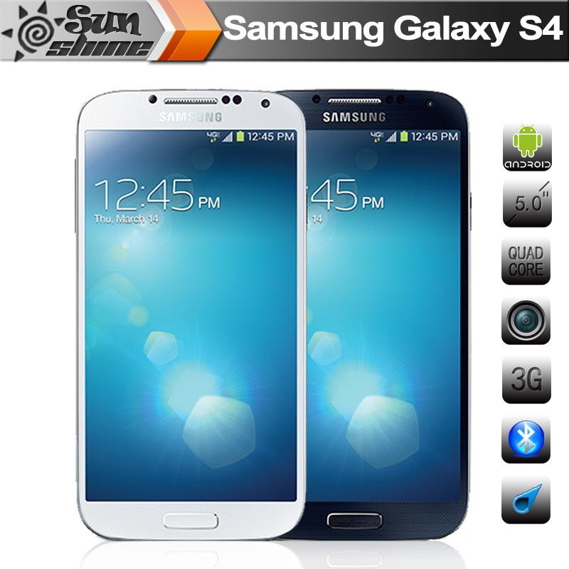 """Originale samsung galaxy s4 i9500 i9505 telefoni cellulari 5"""" LTE cellulare quad core telefono rinnovato"""