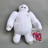 "Free Shipping Hot Sale Christmas Big Hero 6 Baymax Stuffed Plush Robot Doll Soft Baby Classic Toys 8"""