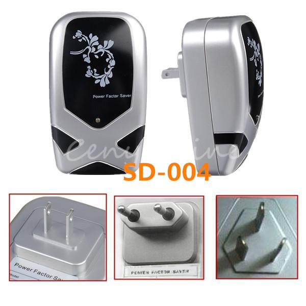 Top Quality SD-004 EU AU US Plug Black 30KW Energy Power Saver Electric Electrical Electricity Saving Box Equipment Device Tools(China (Mainland))