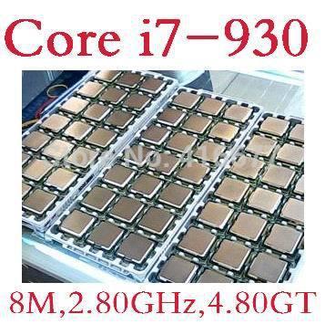 I7 930 cpu für Intel Core i7-930 desktop-cpu 8m Cache, 2,80 ghz, 4,80 GT/s desktop-original verwendet zerlegen prozessor