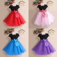 New Arrival Children Ball Gown Dress Elegant Dress Party Baby Girl Princess Fashion Dress Children Summer Clothing Dress