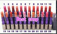 Selling! new Makeup Lipstick 24 colors (24 PCS/lot)