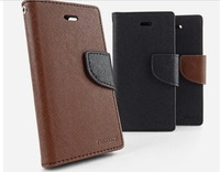 MERCURY Flip Leather Case for LG G3 case with Soft Holder Card soft Tpu holder with stand Slot